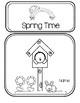 Spring Time Activity Folder