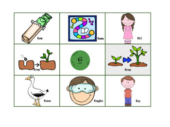 Spring Time Articulation, Grammar, and Vocabulary Game