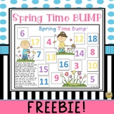 Spring Time Bump - Adding 3 numbers together - Great Center Game!
