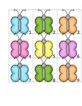 Spring Time Butterflies Calendar Cards