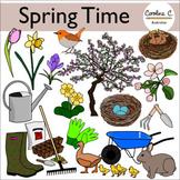 Spring Time Clip Art Set