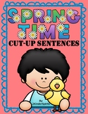 Spring Time Cut-Up Sentences