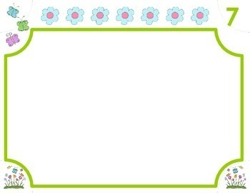 Decomposing Numbers from 3 – 10 • Spring Time