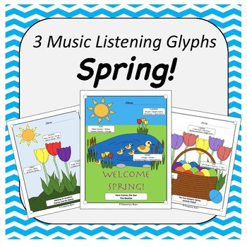 Spring Time/Easter Music Listening Glyphs
