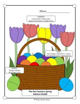 Spring Time/Easter Music Listening Glyphs