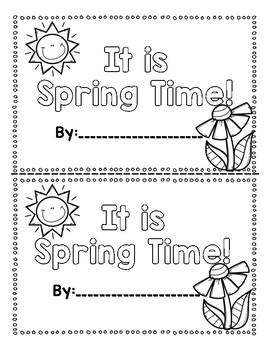 Spring Time Emergent Reader