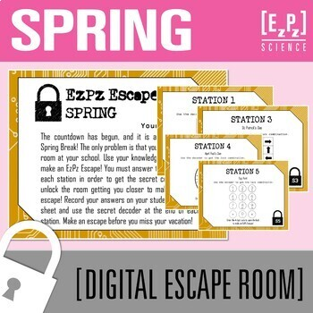 Escape The Room Science Lesson Plans
