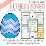 Spring Time Fitness Bingo