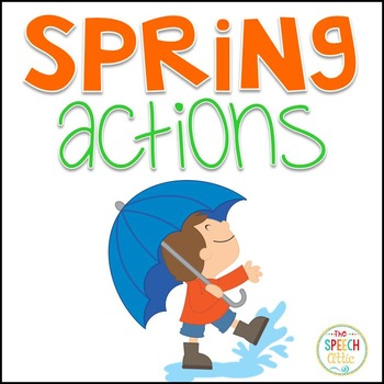 Spring Actions Interactive Book