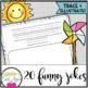 Spring Time Fun PRINTING Practice Joke Book