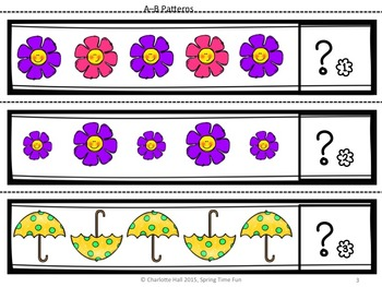 Spring Time Fun: Playing with Patterns