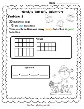 Spring Time Fun Problem Solving Grades 3 - 5