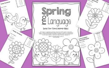 Spring Time Glyphs