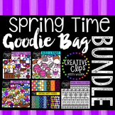 Spring Time Bundle: Spring Clipart {Creative Clips Digital