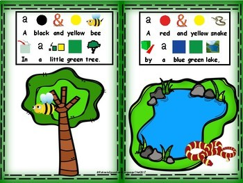 Spring Time Interactive Adapted Book, preschool, special education, kindergarten