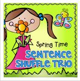 Spring Fluency Sentence Shuffle