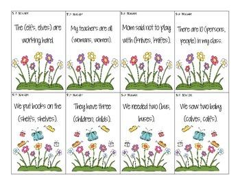 Spring Time Language Packet