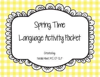 Spring Time Language Packet