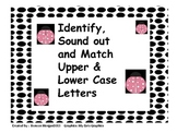 Spring Time Letter Identification, Sounds and Matching