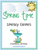 Spring Time Literacy Centers
