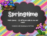 Springtime Math Games