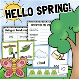 Spring Activities for Math, Science, Literacy 1st Grade