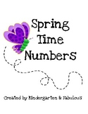 Spring Time Numbers