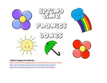Spring Time Phonics Puzzles
