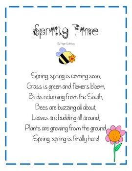 Spring Time Poem