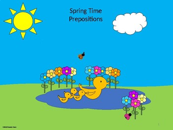 Spring Time Prepositions