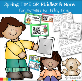 Spring Time-QR code Fun with Time Activities