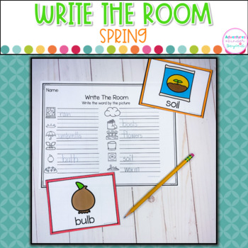 Spring  Write The Room Plus Word Boxes