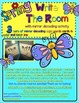Spring Time Write the Room - includes a fun mirror decodin