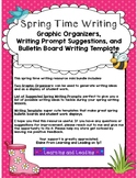 Spring Time Writing: Graphic Organizers and Writing Templates