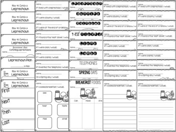 March Time! Writing and Labeling Packet