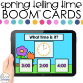 Spring Time to Hour Boom™ Cards - Distance Learning for Sp
