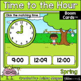 Spring Time to the Hour Boom Cards - Digital Distance Learning