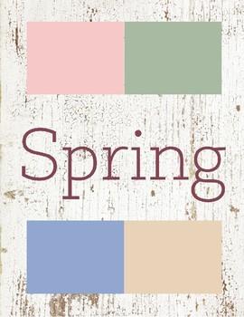 Spring Toddler Theme
