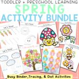 Spring Toddler and Preschool Activity Busy Binder Bundle