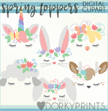 Spring Toppers Clipart