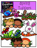 Spring Toppers {Creative Clips Digital Clipart}