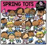 Spring Tots Clip Art Bundle {Educlips Clipart}