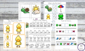 Spring Printable Pack {Preschool and Kindergarten}