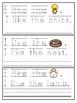Spring Trace & Write Sight Word Sentences