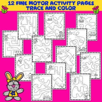 Spring Activities : Fine Motor Activity Printables