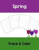 Spring Tracing Sheets