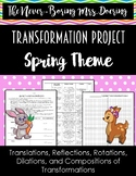 Spring Function Transformation Project Activity for Geometry/Algebra