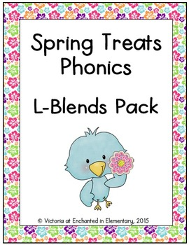 Spring Treats Phonics: L-Blends Pack