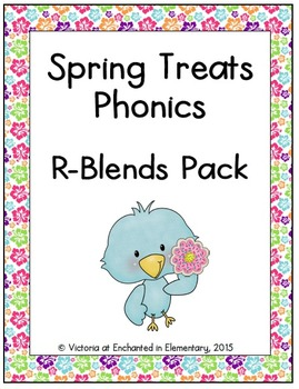 Spring Treats Phonics: R-Blends Pack