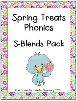 Spring Treats Phonics: S-Blends Pack